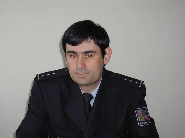 René Černý. Tiskový mluvčí Okresního ředitelství Policie ČR v Rakovníku.