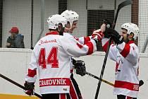 Rakovničtí hokejbalisté vyřadili Most a postoupili do čtvrtfinále 1. NHbL