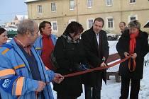 Rekonstrukce části kanalizace v Jesenici byla dokončena