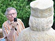 Odhalení unikátní sochy Jana Husa na Krakovci