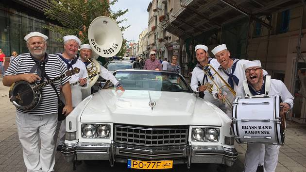 Rakovnická dixielandová kapela Brassband.
