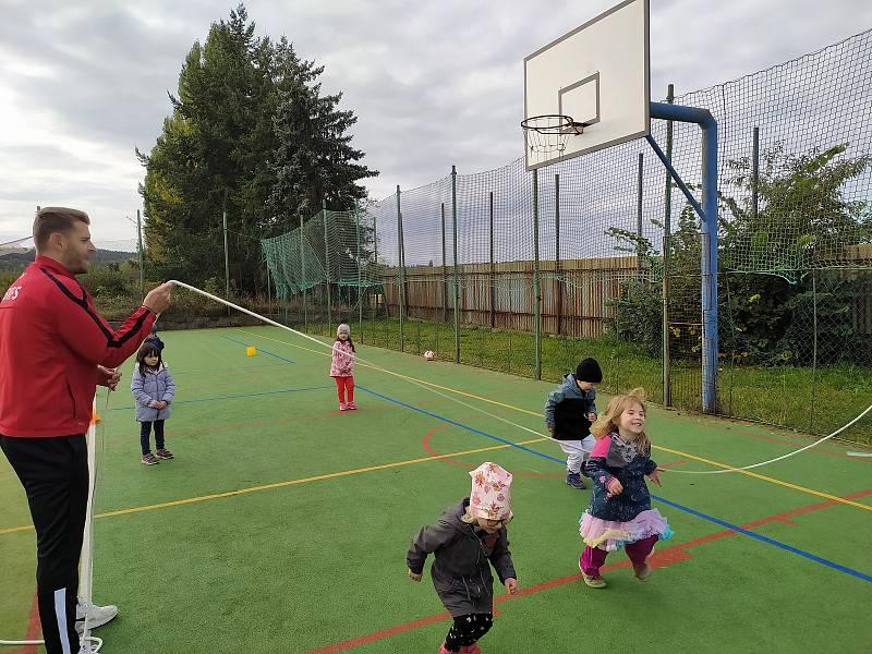 Škola pohybu v Jesenici.