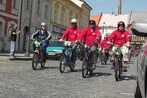 Druhé setkání majitelů mopedů Stadion v Rakovníku a na Křivoklátě