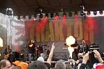 Ze 3. ročníku hudebního festivalu Přílepské léto.