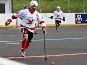 Hokejbalisté HBC Rakovník prohráli v přípravě s Mostem 1:3.