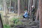 Rybářské závody na rybníku Štikový