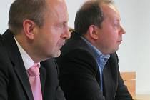 Náměstek ministryně Marek Šnajdr v rakovnické nemocnici