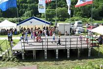 Vodácký maraton na řece Berounce