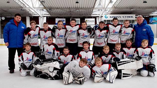 Mladší žáci HC Rakovník skončili v krajské soutěži druzí