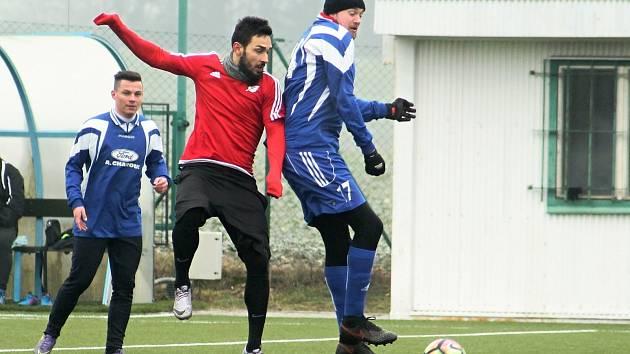 Fotbalisté Nového Strašecí prohráli v prvním přípravném duelu s Březovou 3:7.
