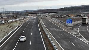 Otevření dalšího úseku dálnice D6 na Rakovnicku