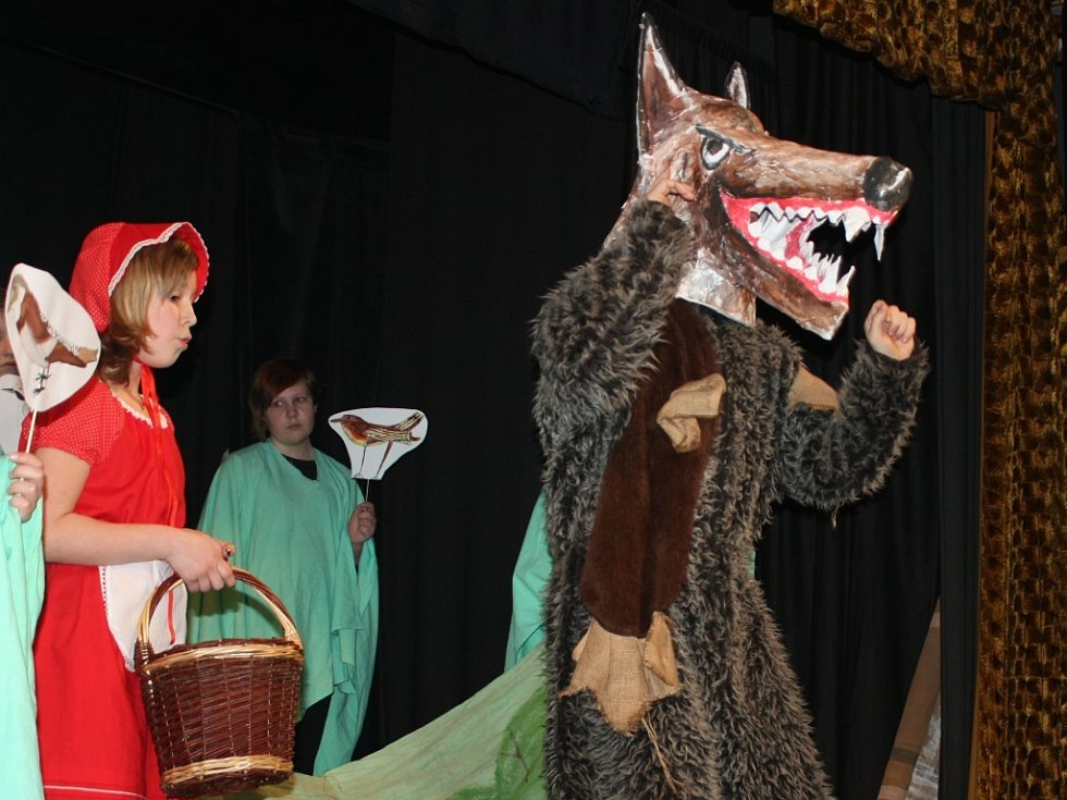 Mini opera Červená Karkulka
