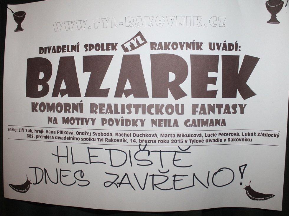 Zkouška Bazárku před premiérou