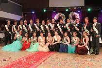Maturitní ples oktávy rakovnického gymnázia