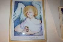 Výstava Andělé v roubence Lechnýřovně