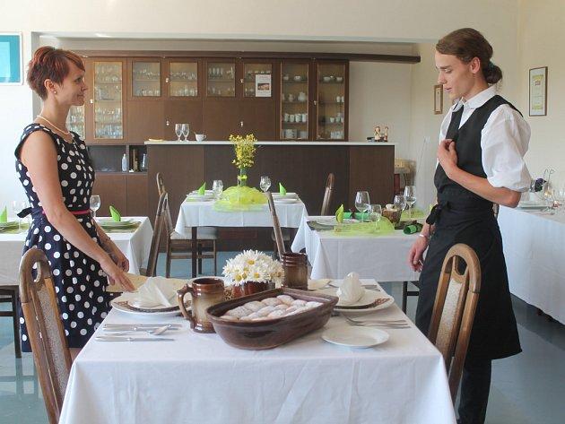 Praktické zkoušky oboru kuchař-číšník na ISŠ Rakovník