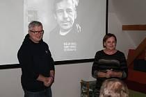V rakovnické Roubence měl besedu osobní fotograf Václava Havla Tomki Němec.
