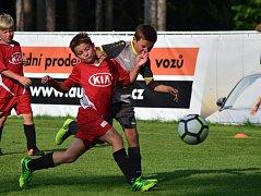 V derby přípravek se střetly Tatran a SK Rakovník. Výsledek byl druhotný.