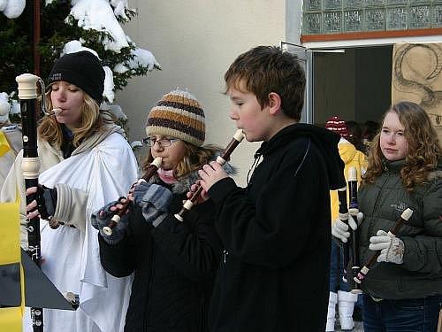 Vánoční jarmarmark ZUŠ 2010
