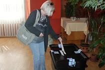 Komunální volby v Jesenici v roce 2018.