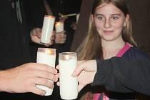 Přijímací rituál na rakovnickém gymnáziu