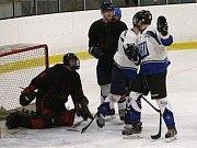 Hokejisté rakovnické rezervy zdolali kladenskou Hvězdu 3:2.