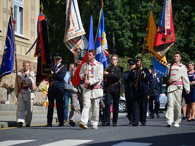 V rámci oslav vysadili místní lípu republiky.
