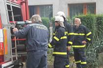 Okrskové cvičení hasičů v Janově