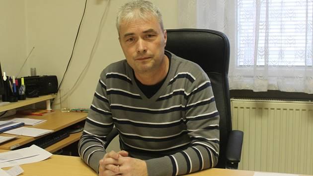Pavel Soukup, nový starosta Lubné