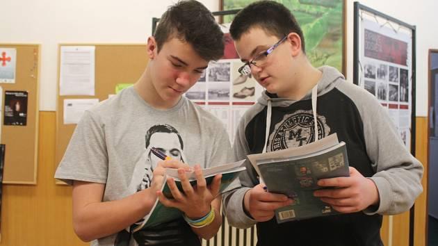 Žáci se učí o Tomáši Baťovi