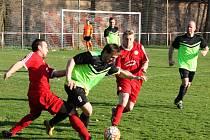 Kolešovice doma remizovaly s Kněževsí 2:2, penalty ovládli domácí.