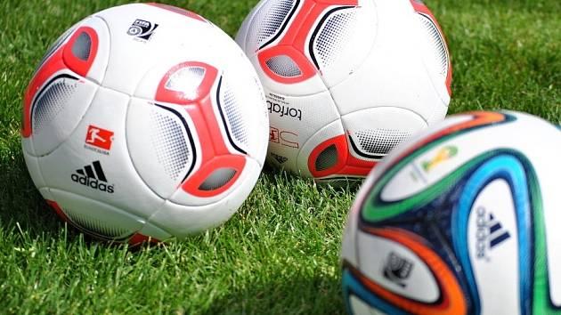 Fotbalový míč. Ilustrační foto