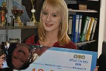 Veronika Bayerová získala cenu za Dětský čin roku 2010