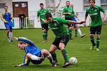 Jeden z mála zápasů okresu se odehrál v Mutějovicích. Domácí vyhráli nad Unhoští 4:3