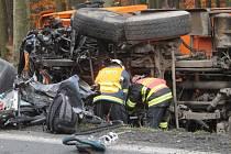 Tragická nehoda u Lužné