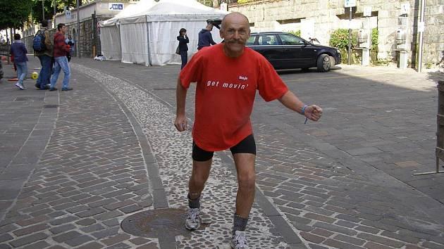Sláva Pilík běžel v Itálii maratón