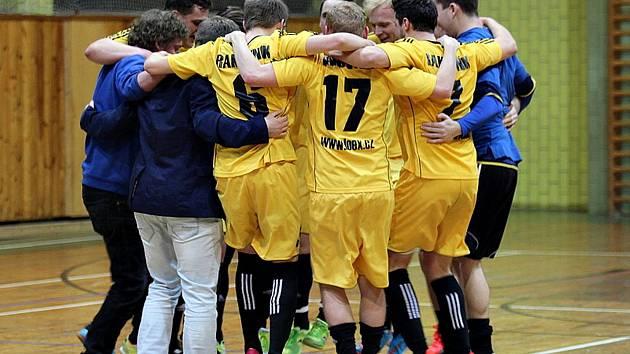 Futsalisté Atlanticu se radují z vysoké domácí výhry nad Třebenicemi.