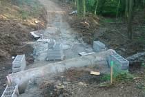 Výstavba cyklostezky do Pavlíkova pokračuje