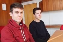 Václav Koudelka a Vilém Křižanovský