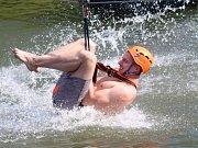 Účastníci akce Tyršák Faktor si vyzkoušeli různé adrenalinové disciplíny