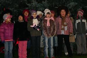 Vánoční strom v Senomatech