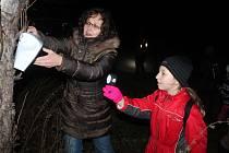 Vánoční vycházka v Olešné
