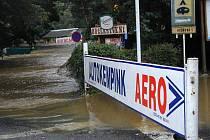 Povodně v roce 2002 zničily skoro celou Višňovou.