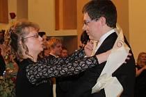 Maturitní ples novostrašeckého gymnázia