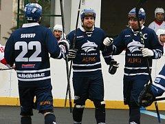 Hokejbalisté HBC Rakovník padli s kladenským Alpiqem 2:8.