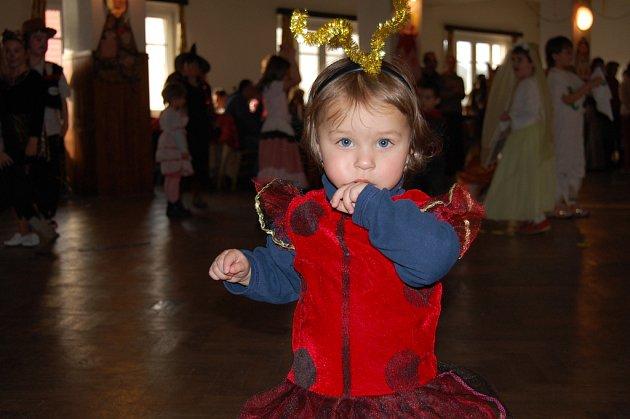 Dětský karneval v Oráčově.