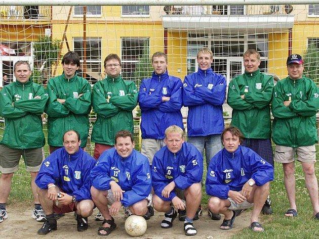 Tým FK Hředle