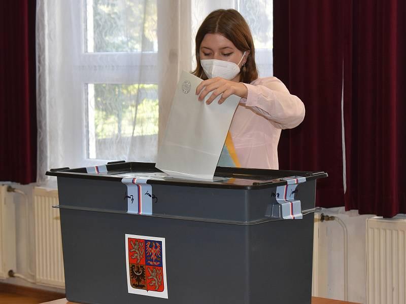 Parlamentní volby v Domě dětí a mládeže Rakovník.