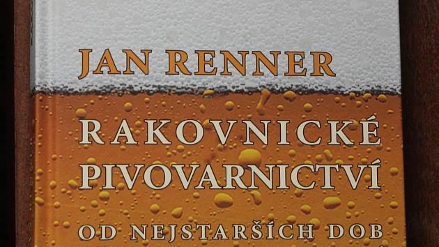 Obálka knihy Rakovnické pivovarnictví od Jana Rennera