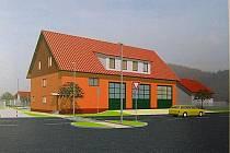 Projekt nové budovy  IZS v Roztokách je hotov.